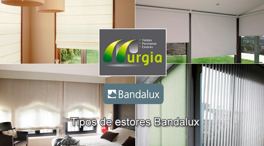 Tipos de estores Bandalux en Bilbao