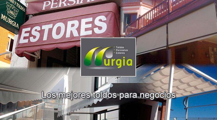 Toldos para negocios Bilbao