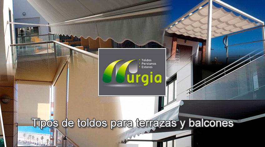 Toldos para terrazas y balcones en bilbao toldos murgia - Tipos de toldos para terrazas ...